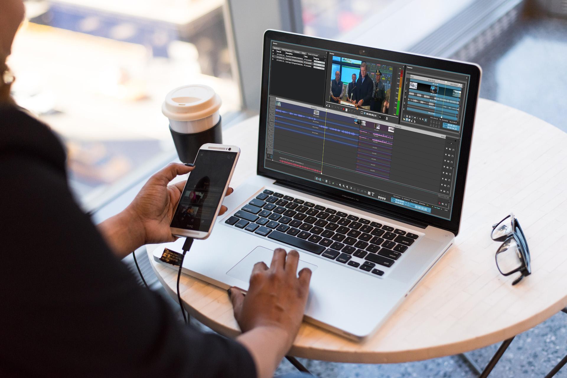 Dalet Remote Editor