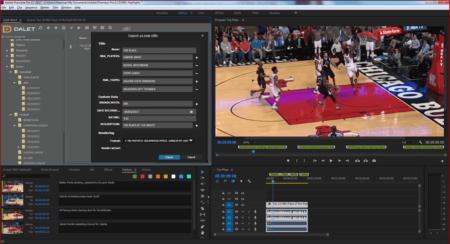Dalet Xtend for Adobe Premiere Pro CC
